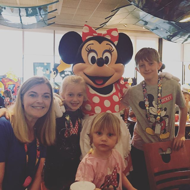 A few snaps from our first Disney breakfast at Chef Mickeys