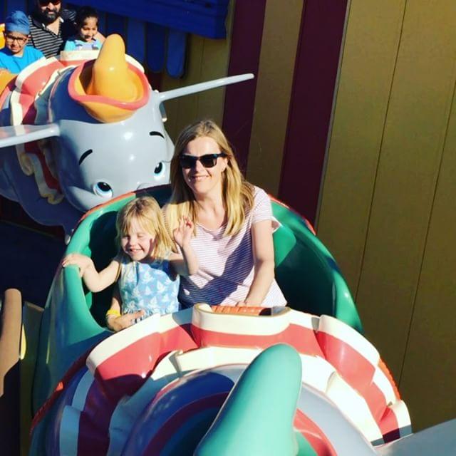 Florence loving a bit of Dumbo
