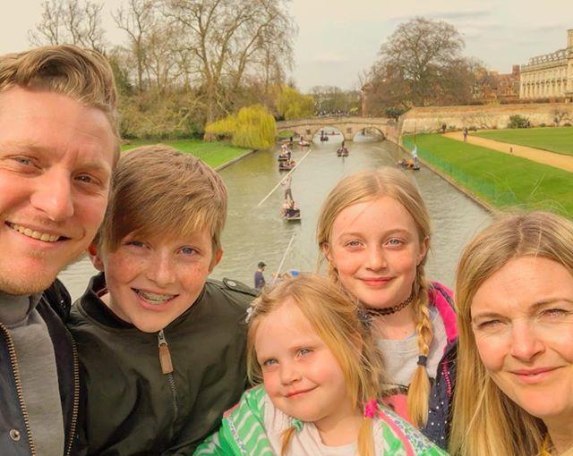 Fincher family selfie 🤳